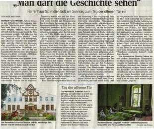 Zeitungsbericht in der LVZ v. 22.09.2014